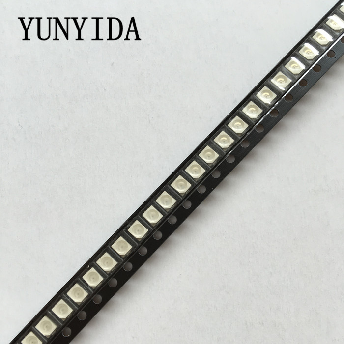 100pcs/LOT Blue Red Yellow White Green Light Diode <font><b>1210</b></font> <font><b>SMD</b></font> <font><b>LED</b></font> Super Bright 3528 <font><b>LED</b></font> 3.5*2.8mm New image