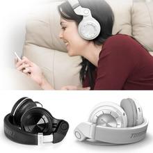 Bluedio T2 bluetooth auriculares inalámbricos bluetooth headset plegable auriculares con micrófono potente bass auriculares sobre la oreja