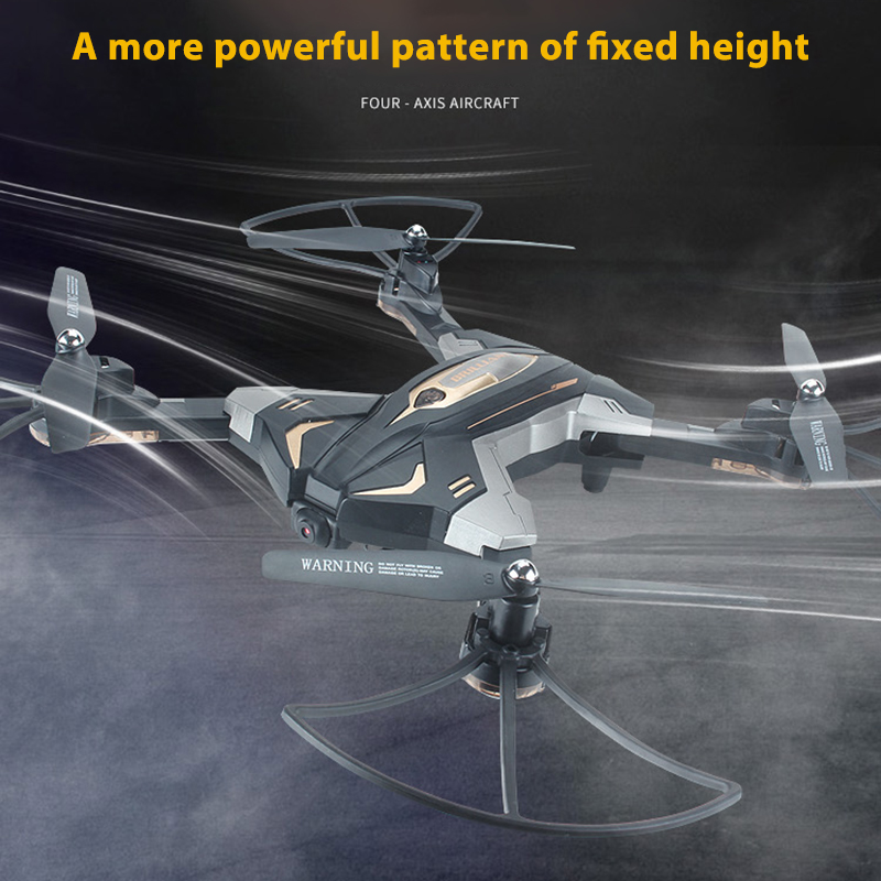 2.4G 4 Axis Aircraft RC Plane Foldable Flying Toys with 0.3MP 720P Camera Light Helicopter RC Helicopter Flying Toys for Kids