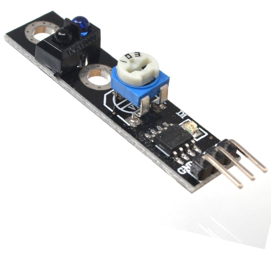 Online Shop Tcrt5000 For Arduino Sensor Track Ir Photoelectric Transformer Diagram Obstacle Avoidance Robot Circuit 1 Pcs Tracking Infrared Avr Pic