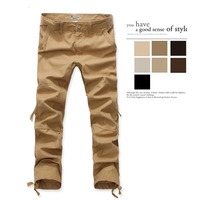Khaki Pants Military Clothing Men S Combat Pants Army Green Cargo Pants Male Overalls Casual Trousers