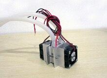 DIY комплекты Термоэлектрический Пельтье Холодильное Система Охлаждения Водяное охлаждение + вентилятор + 2 шт. TEC1-12706 Кулеры