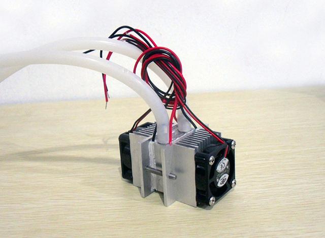 Kits DIY Termoelétrica Peltier De Refrigeração Sistema De refrigeração de Água + fã + 2 pcs TEC1-12706 Coolers