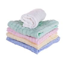 Baby Towel Cotton Natural Soft And Absorbent  Baby Face Towel Baby Bath Towel For Sensitive Kindergarten washcloth 30x30 cm towel baby bath towel vomit milk cotton gauze baby diapers soft and absorbent household multicolor differential use 50 68cm