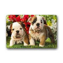 Memory Home Bull Dog Doormat Non Slip Floor Mat Kitchen Bathroom Door Mat  Funny Rugs