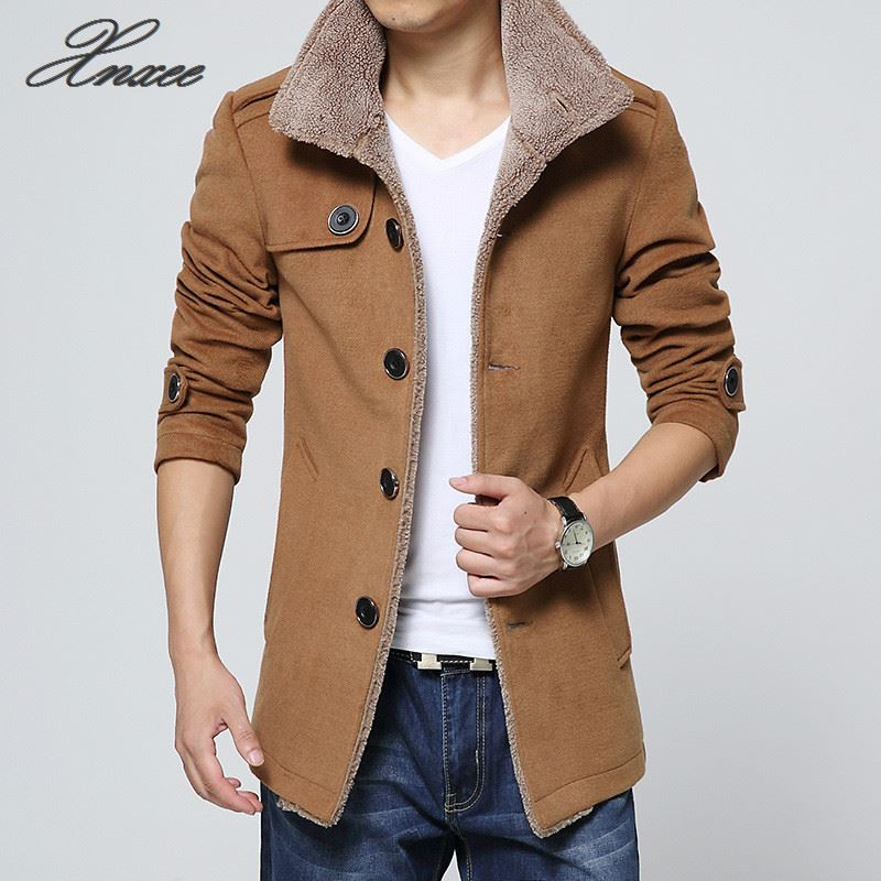 New 2019 Casual Men 'S Jacket Men Coats Winter Male Outerwear(China)