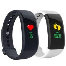 V66S Smart Band Activity Tracker Blood Pressure Waterproof Ultra-long Sport Bracelet Couple Smartwatch OLED Color Screen