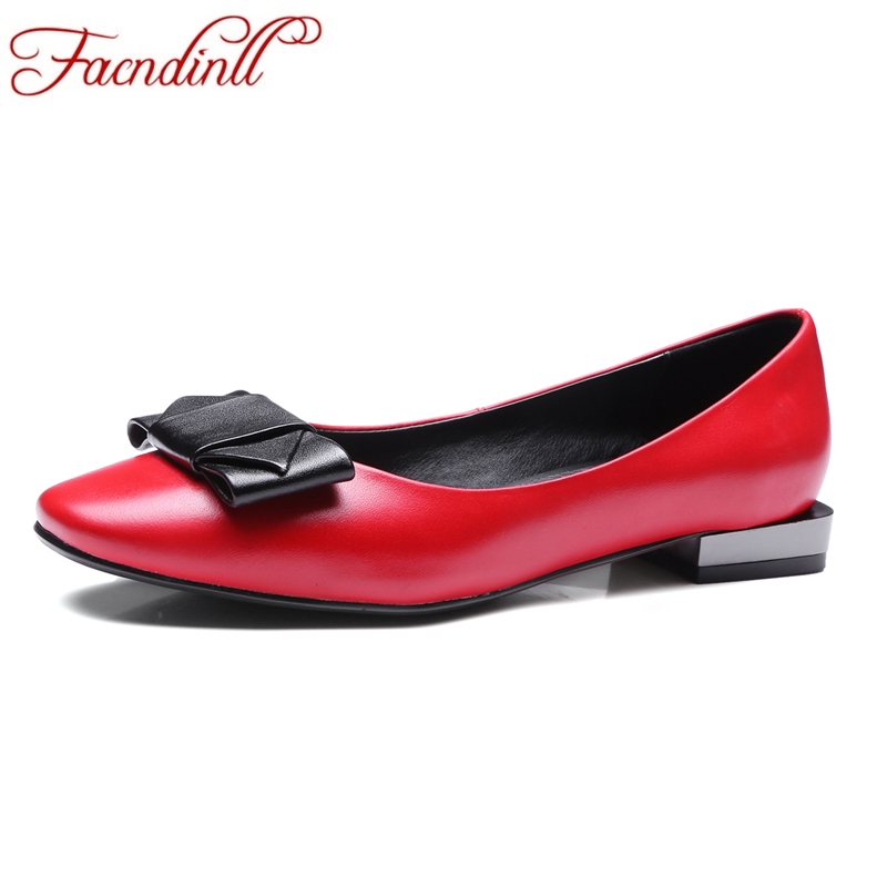 FACNDINLL spring autumn fashion women flats shoes round toe genuine leather flat heel shoes woman summer casual shoes size 34-43 plue size 34 49 spring summer high quality flats women shoes patent leather girls pointed toe fashion casual shoes woman flats