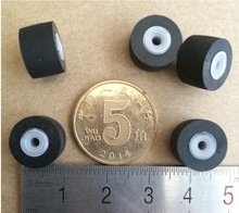 5pcs/lot 11.5x8x2mm JVC pressure belt wheel card seat movement  high-end audio pressure belt wheel цены