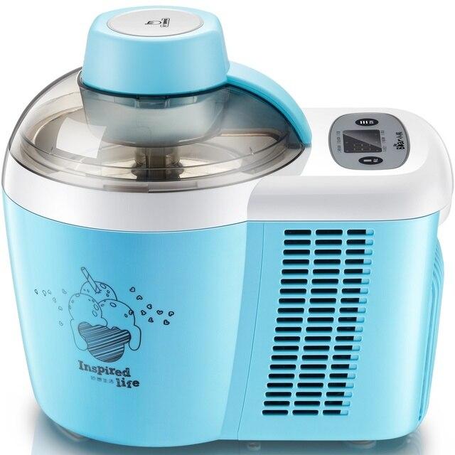 220V Self-Cooling Ice Cream Machine Full-automatic Multifunctional Fruit Ice Cream Maker For DIY Homemade Dessert EU/AU/UK/US