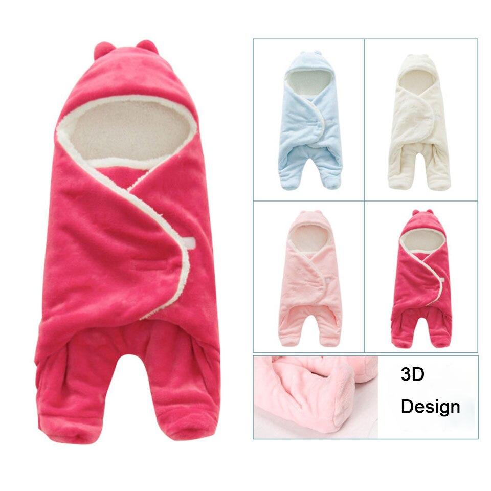 68*80cm Newborns Sleeping Bag Baby Blankets Warm Swaddle Winter Baby  Sleeping Bag Envelope For