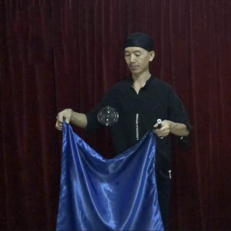 Zombie Bubble Ball Magic Tricks Bubble Floating Vanish Magia Magician Stage Gimmick Illusions Props Mentalism Fun