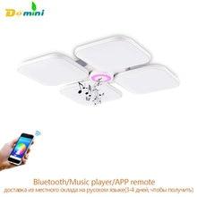 Celing Leuchtet Cold White + Warmweiß luminaria Bluetooth Musik Licht Intelligente Fernbedienung Lampenschirm/Moderne Deckenleuchte