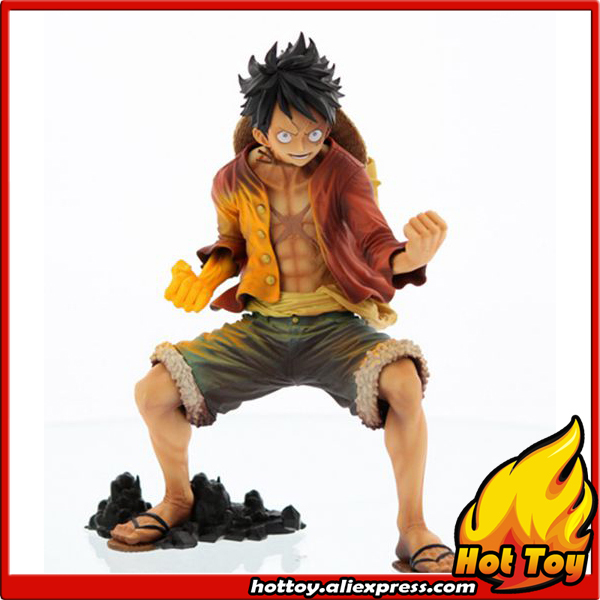 Original Banpresto KING OF ARTIST Overseas Limited Edition Collection Figure - Monkey D. Luffy (Red Hawk Ver.) from One Piece