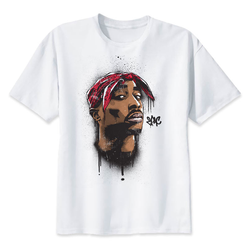 2pac t shirt Makaveli tupac T Shirt rapper Snoop Dogg Biggie Smalls The Game eminem J Cole jay-z Savage hip hop rap music Tops image