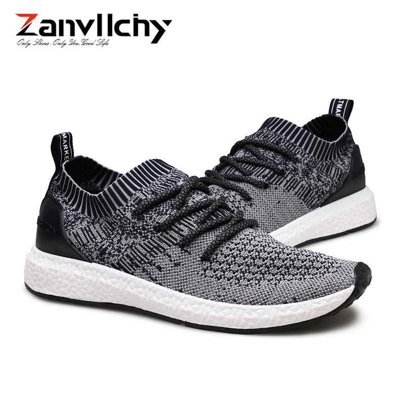 все цены на Zanvllchy Spring Summer Mens Shoes Casual Breathable Tenis Masculino Adulto Mesh Sneakers Men Soft Sole Trainers Chaussure Homme