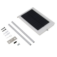 Brand New High Quality18 LED Ultra Thin Waterproof Solar Sensor Wall Street Light Outdoor Lamp Garden