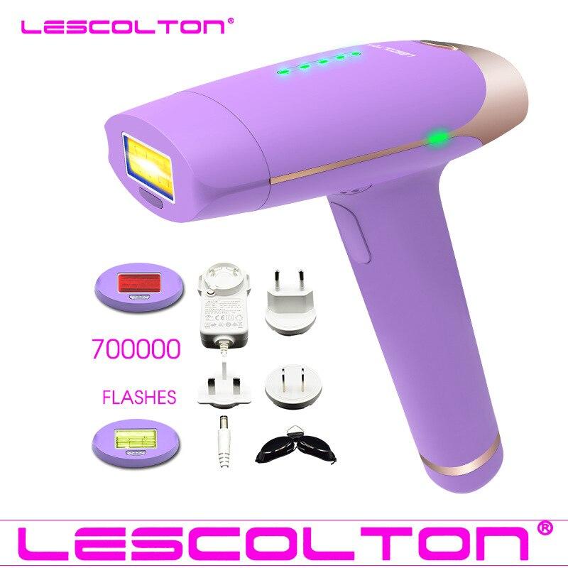 IPL Laser Epilator Permanent Hair Removal Bikini Armpit Leg Women 700000shot Laser Hair Removal Skin Rejuvenation Beauty Machine ipl connector for ipl hair removal and skin rejuvenation beauty machine
