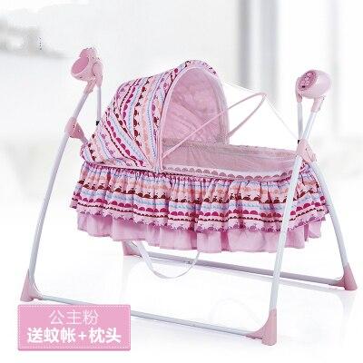 Envío Gratis metal cuna mecedora cama Cunas cuna y cochecito de bebé ...