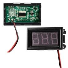 DC 4,5 В~ 30 в панель детектор вольт метр преобразователи красный синий зеленый цвет ЖК-цифровой вольтметр тестер монитор вольтметр адаптер