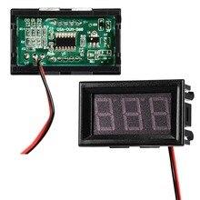 DC 4,5 V ~ 30V Panel Detektor Volt Meter Konverter Rot Blau Grün Farbe LCD Digital Voltmeter Tester Monitor voltmeter Adapter