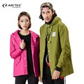 AIR TEX New jacket jacket men and women fashion button couple single layer Jackets winter trench coat men male trench coat
