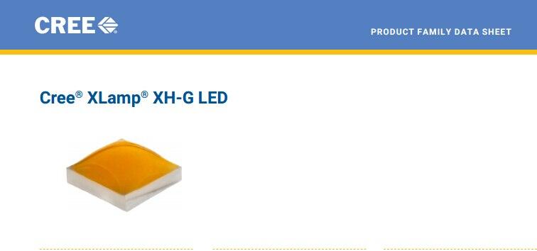 1000pcs/lot US.CREE XHG SMD Beads 1W High Power LED Chip 2700~3000K@5000~6500k Pure white/Warm White