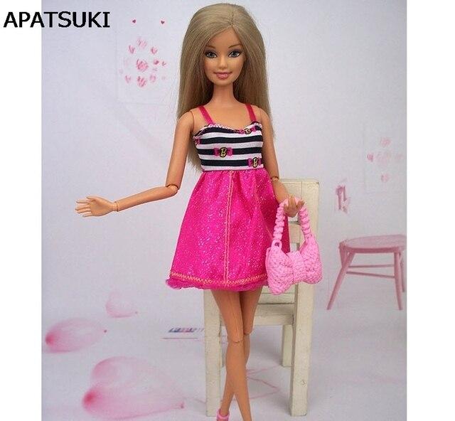 Vestido causal Vestido corto de una pieza para Barbie Muñecas para 1 ...