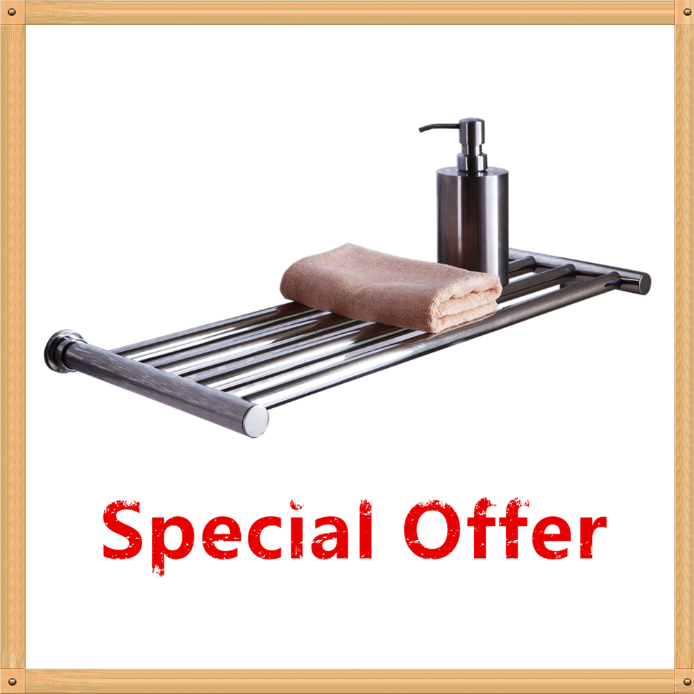 Braddan Stainless Steel Heated Towel Rail Warmer: 2018 Special Offer Heated Towel Rail Single Layer Electric
