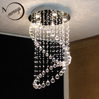 Royal Europe loft chandelier with GU10 5 lights crystals classical lamps for bedroom hotel lobby restaurant living room kitchen
