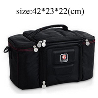 High Quality Waterproof Picnic Lunch Bag Insulated Portable Fabric Thermal Cooler Bag Large Volume Storage Bag