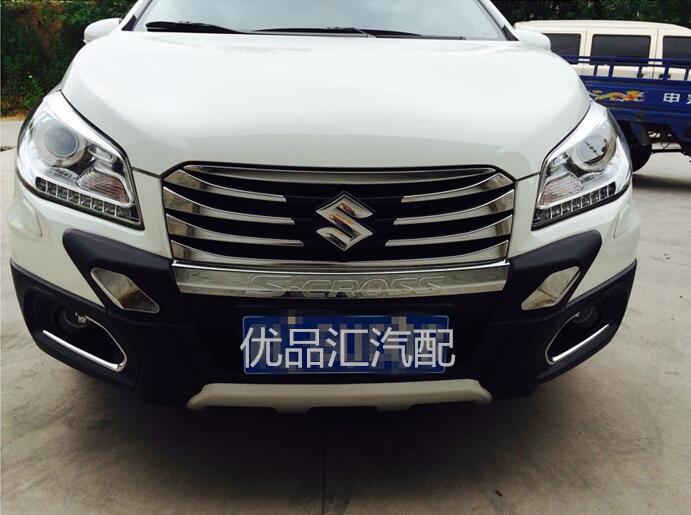 Высокое качество пластик переднего бампера протектор гвардии для Suzuki s-крест SX4, который 2014+