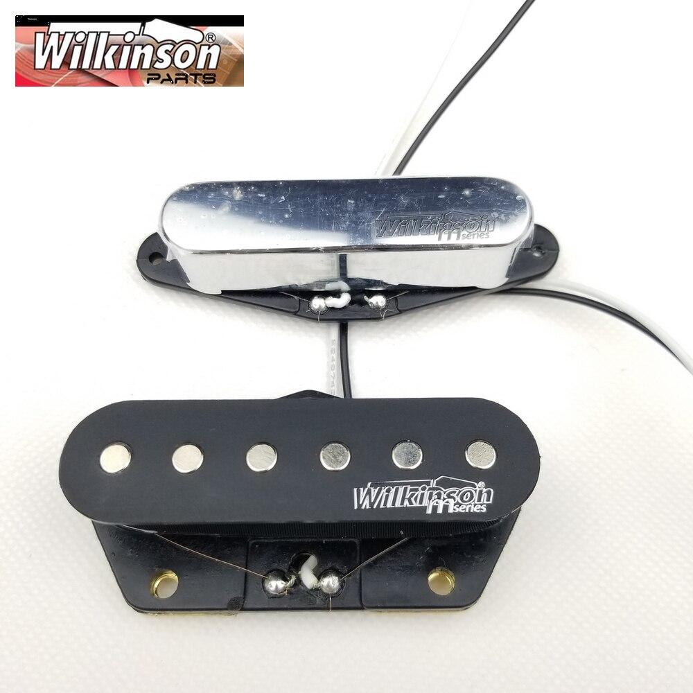 Wilkinson Silver TL Tele Eleciric Guitar Pickups Chrome Tele Pickups WOVT