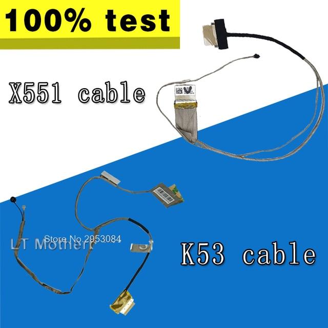 New LED LCD Video Flex Cable For ASUS K53E K53 X53 X53E A53S K53S K53SV K53SD X551 X551M X551CA K56 K56C S56C A56C K56CM K56VM