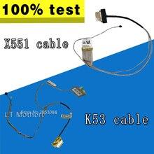 Новый светодиодный ЖК-дисплей видеопровод кабель для ASUS K53E K53 X53 X53E A53S K53S K53SV K53SD X551 X551M X551CA K56C K56CM K56CA K56CB S56C