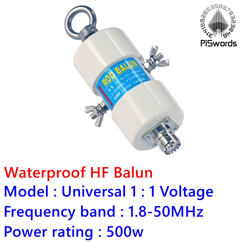 BEST DISCOUNT) DYKB 1:1 HF Balun Waterproof for 160m 6m Band