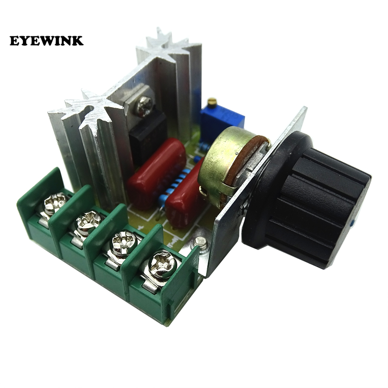 2019 New Style Eyewink 5pcs/lot Smart Electronics 220v 2000w Speed Controller Scr Voltage Regulator Dimming Dimmers Thermostat Electronics Production Machinery