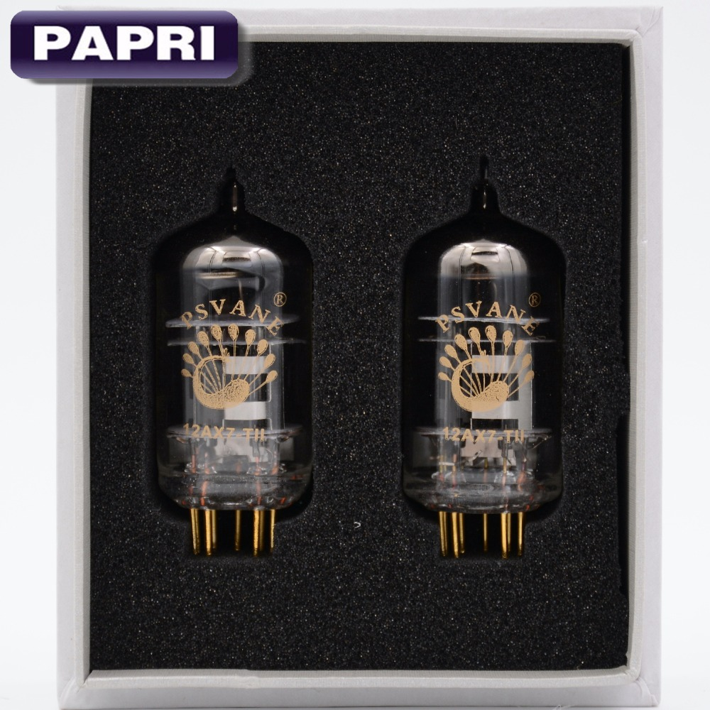 1 Pair PSVANE 12AX7 T ECC83 Mark II Vacuum Tube For HIFI DIY Audio font b