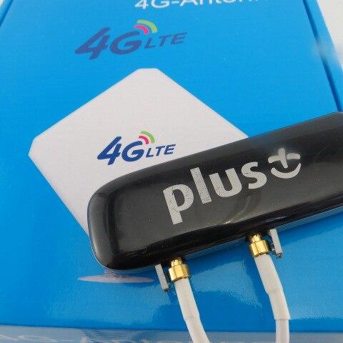 ZTE MF821 100Mbps 4G LTE FDD Modem 4G modem +2XTS9 4G Antenna Mimo unlocked huawei e3372 e3372s 153 150mpbs 4g lte usb dongle 4g lte antenna 35dbi crc9 for e3372 4g lte fdd modem