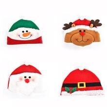 BalleenShiny niños de Navidad de Santa Claus muñeco de nieve sombrero Reno  copos de nieve en Bebé bebé sombreros-Sombrero de la . 38331cdecc5