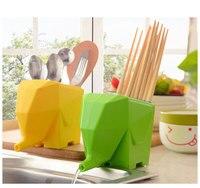 1PC Vanzlife Kitchen Supplies Plastic Chopsticks Cage Chopsticks Tube Draining Cutlery Storage Box Drain KX 010
