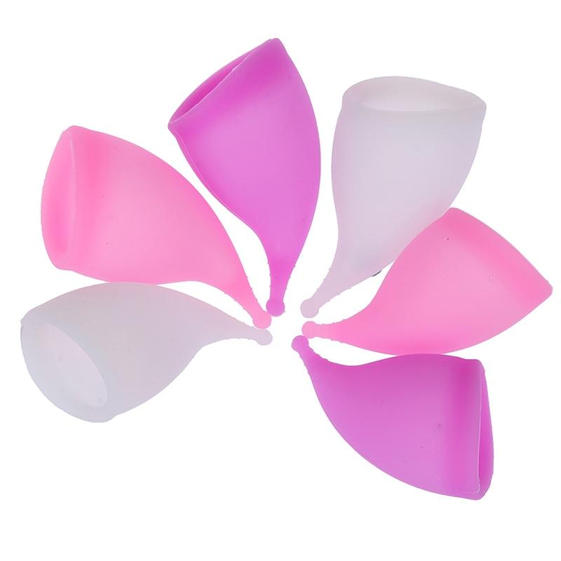 Lady Medical Grade Silicone Menstrual Cup Feminine Hygiene Menstrual Period Cup