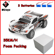 WLtoys A969-A 1:18 RC Car 4WD 4CH High Speed Remote Control SUV 35KM/h Off Road Racing Car 2.4GHz RC Monster Truck цена в Москве и Питере