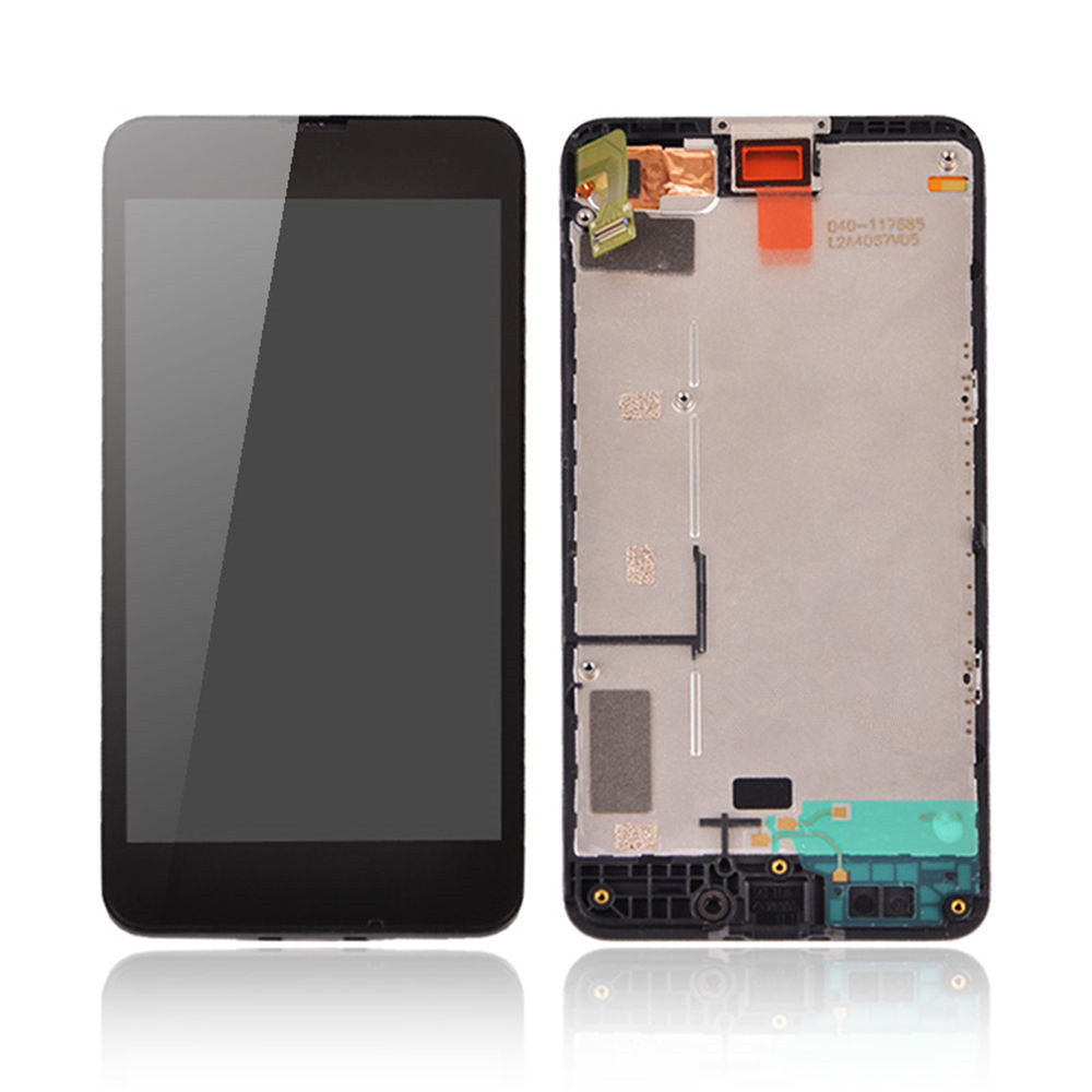CPPA For Nokia Lumia 630 635 LCD Display Digitizer Touch Screen With Frame Free Shipping