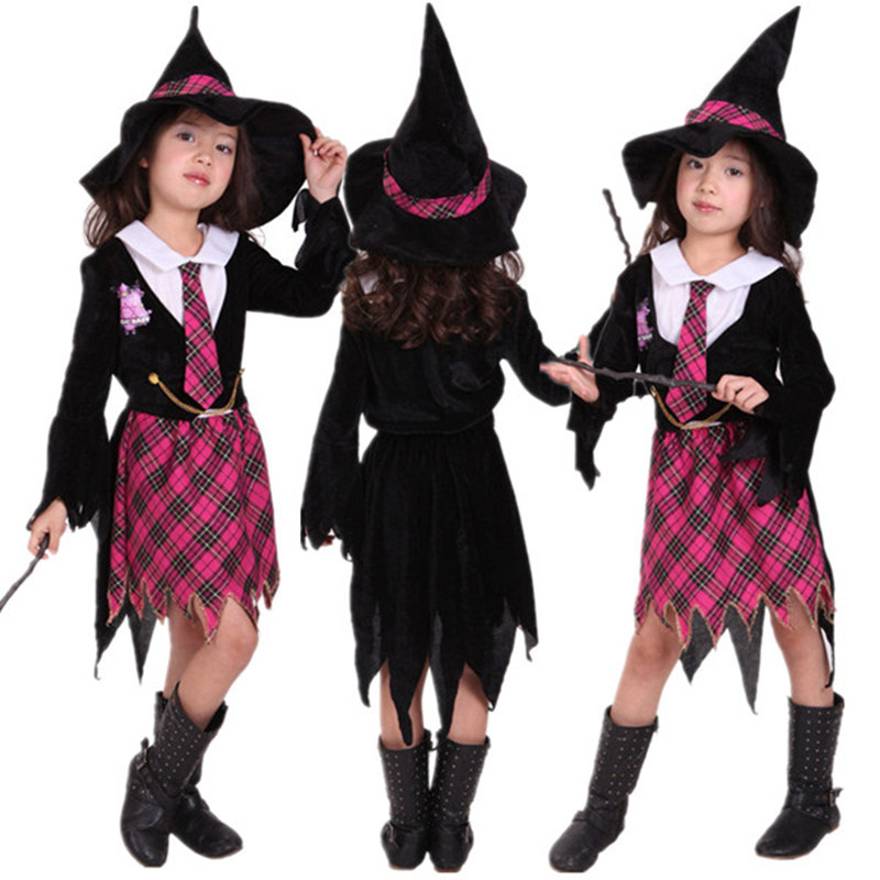 Harri Magician Costume Girls Children Child Witch Costumes Kids Girls Halloween Potter Carnival Party Fancy Dress Hat Cosplay Buy At The Price Of 16 14 In Aliexpress Com Imall Com