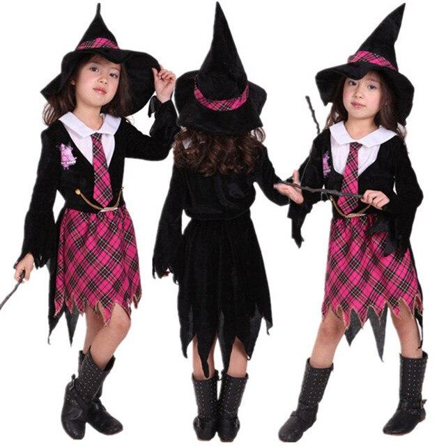 67c119f2fadc Harri magician costume girls children child witch costumes kids ...