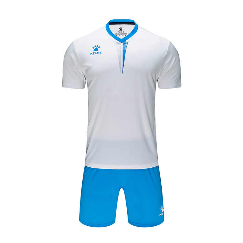 KELME Nach männer Fußball Uniform Fußball Jersey Trainingsanzug Spotswear Kurzarm kinder Jersey Fußball Shorts Set Männlichen 3891047