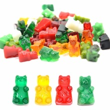 Practical Cute Gummy Bear 50 Cavity Silicone Tray Make Chocolate Candy Ice Jelly Mold DIY Children Cake Tools Wholesale D0026-1