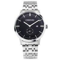 2016 CHENXI Watches Men Women Luxury Brand Watch Quartz Men Full Steel Wristwatches Watch Relogio Masculino
