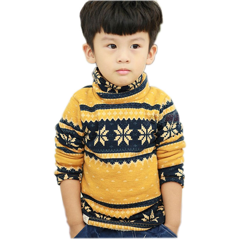 Aliexpress.com  Buy Boys Sweaters Kids Winter Sweater Snow Plus Thick  Velvet Boys Christmas Sweaters Turtleneck Kids Boys Pullover from Reliable  sweater